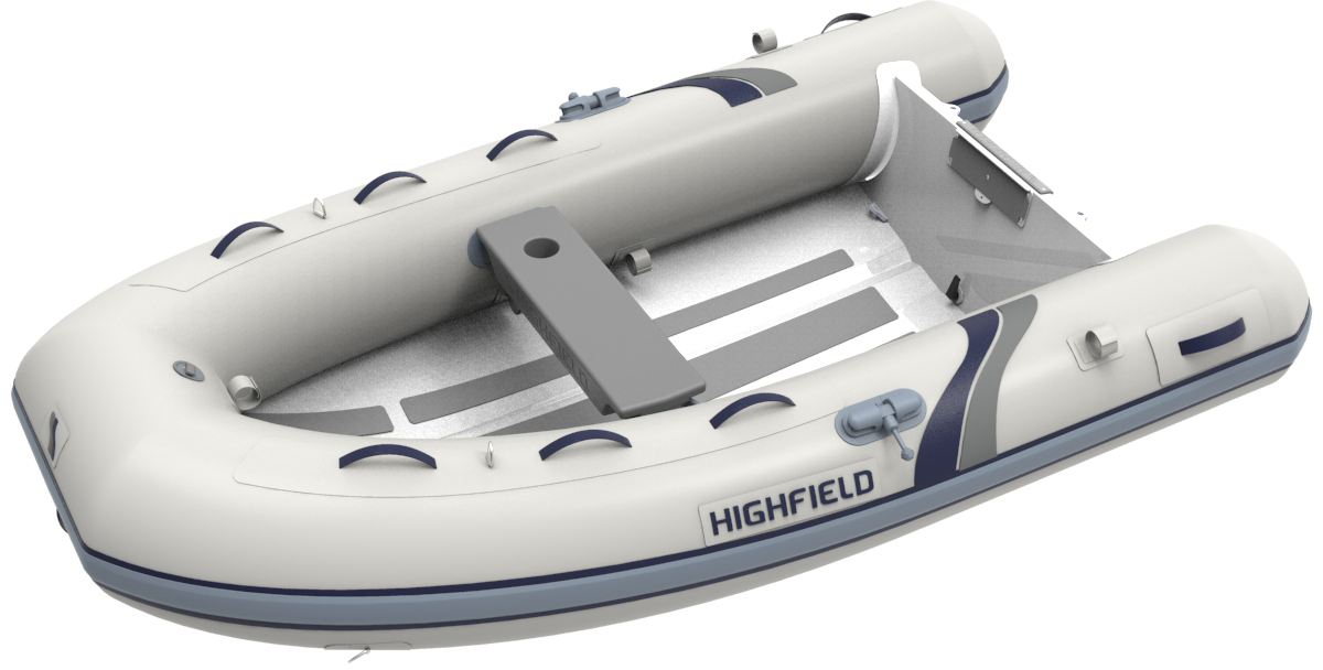 Highfield Ultralite 260 Vertical View